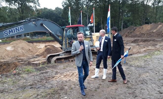 Feestelijk start bouw 40 appartementen Den Bergh te Soesterberg