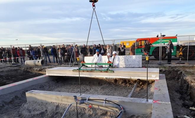 Feestelijke start bouw 22 woningen 'De Viaan' te Zeewolde