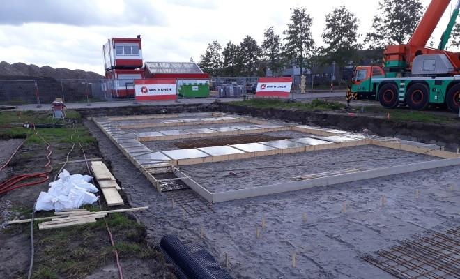 Officiële start bouw 31 sociale huurwoningen Zuidpolder te Eemnes