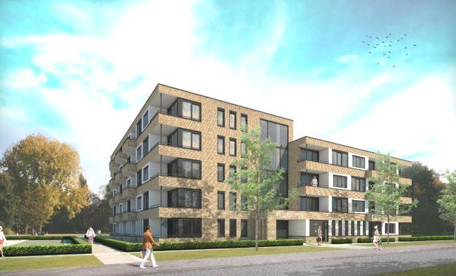Omgevingsvergunning 45 appartementen Waddenlaan te Lelystad aangevraagd