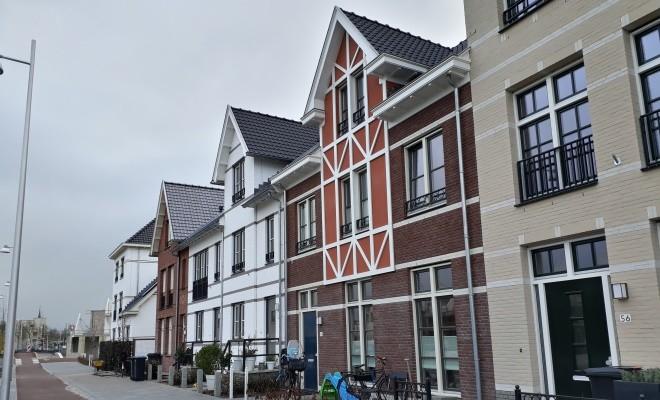 Oplevering 24 woningen fase 1A Lanenrijk Weespersluis te Weesp