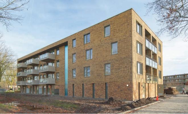 Oplevering 48 appartementen Kolibrie te Assen