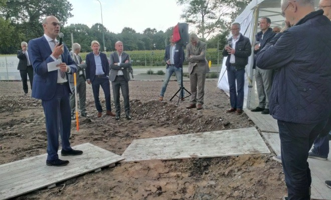 Officiële start bouw 17 appartementen Donderberg te Leersum