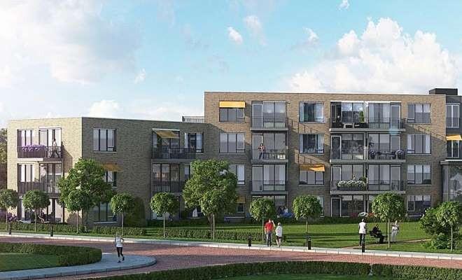 Start bouw 35 appartementen Esdoornstraat te Zwolle