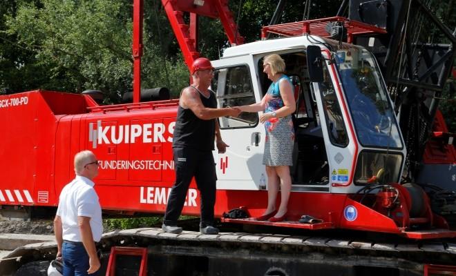 Feestelijke start bouw 48 appartementen Park Groenwijck te Hoorn