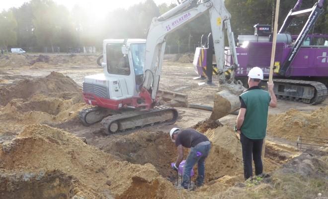 Start bouw kindcentrum Emmerhout te Emmen