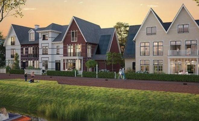Start verkoop 24 woningen Weespersluis Lanenrijk fase 1 te Weesp