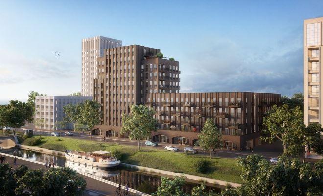 Start verkoop appartementen Karaat te Groningen