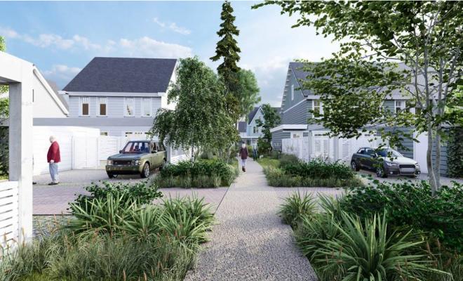 Woningbouwproject Noorderduin met 'beachy' uitstraling