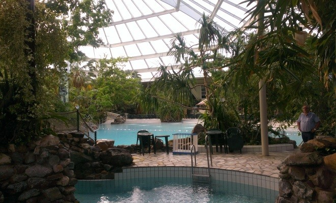 Heijen | Koepeldak Aqua Mundo | Center Parcs Het Heijderbos