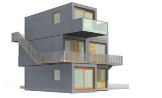 NAM Pilot | Nieuwbouw-innovatieregeling | Aardbevingsbestendigheid concept DE BLOK